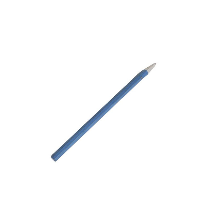 Puntero octogonal forjado 250x16 mm.