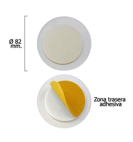 Discos Adhesivos Pared Ventosa (2 Piezas)