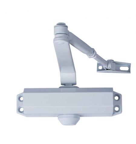 Cierra Puertas Con Retenedor Fuerza 3. Color Blanco (Puertas 80/100 cm.)