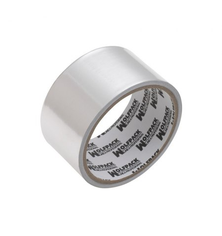 Cinta Adhesiva Aluminio 48 mm. x  45 m. 66 micras