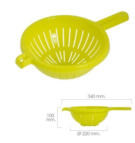 Escurridor / Colador Cocina con mango Ø 22 cm.