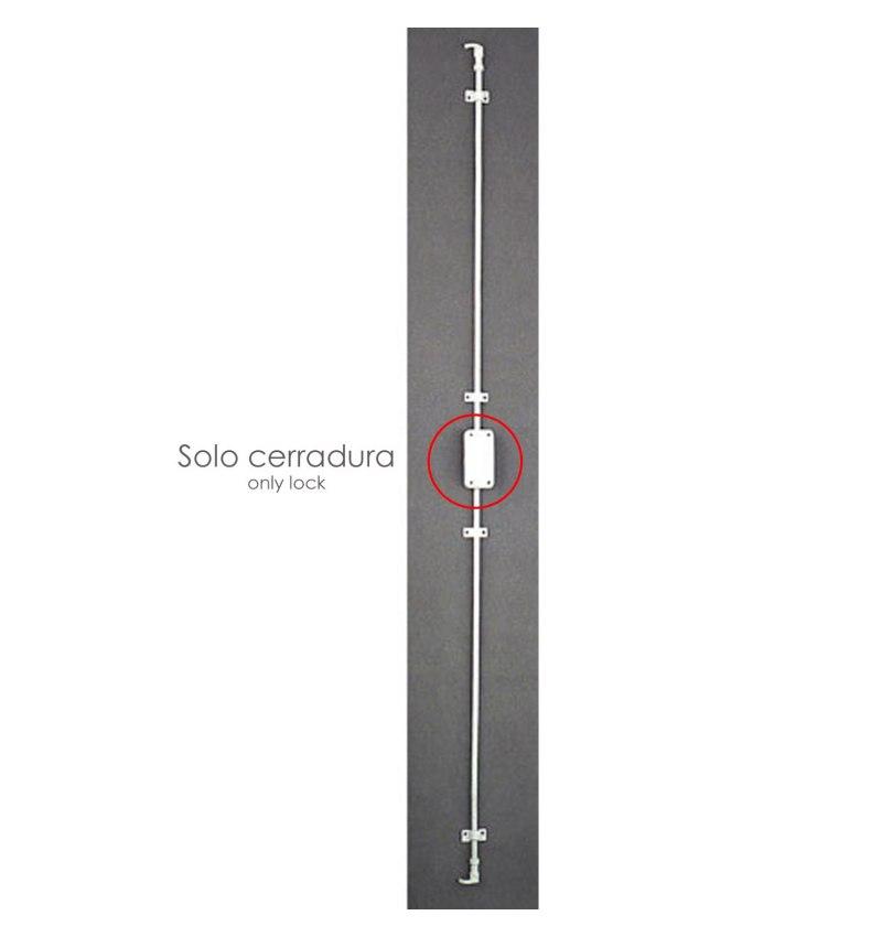 Cerradura Falleba Sin Llave 93/ Blanco