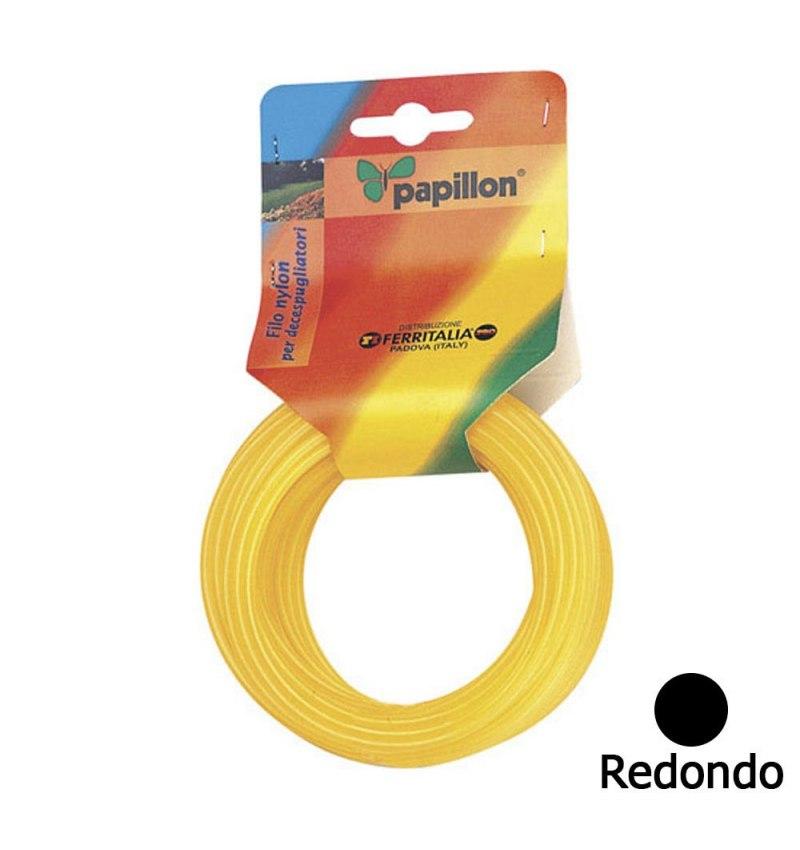 Hilo Nylon Redondo 2,4 mm. (Rollo 15 Metros)