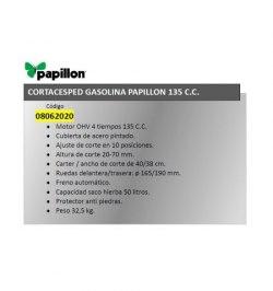 Cortacesped Gasolina Papillon 135 cm³