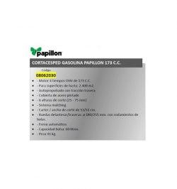 Cortacesped Gasolina Papillon 173 cm³ Autopropulsado
