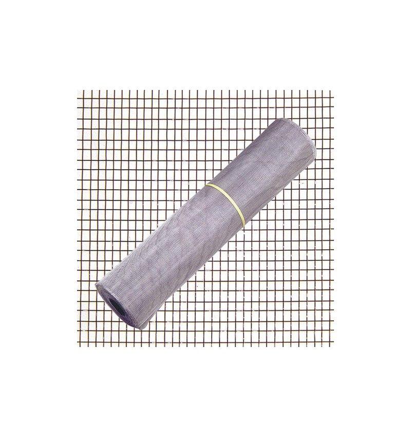 Tela Mosquitera Aluminio 18x14/ 60  Rollo 30 Metros