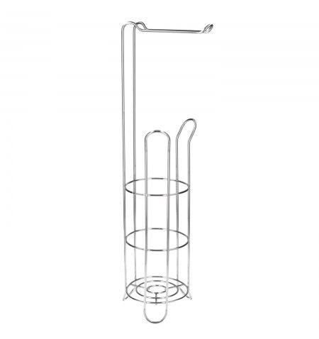 Portarrollos Papel Higienico Vertical Para Baño, Rollos De Reserva, 18x16x61cm.