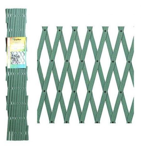 Celosia Pvc Verde Extensible 4x1 metros.