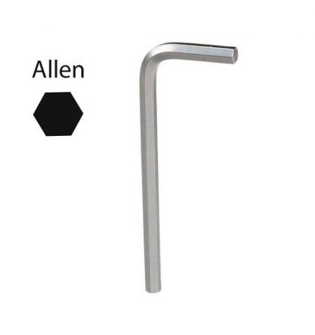 Llave Allen Maurer Cromo Vanadio Profesional  2,5mm
