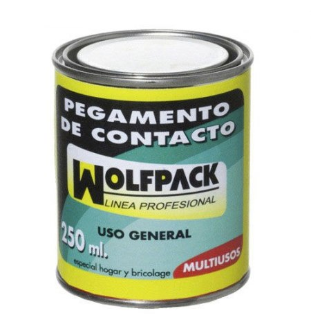 Pegamento Contacto Wolfpack   250 ml.