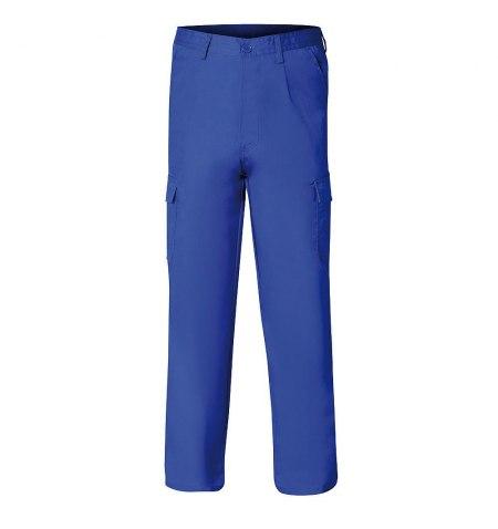 Pantalon De Trabajo Azul 54