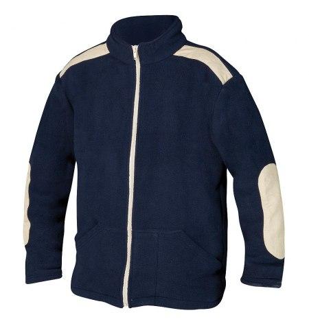 Jersey de Trabajo Forro Polar Con Cremallera Azul Talla  XL