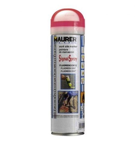 Spray Pintura Trazador Rojo Fluorescente 500 ml.