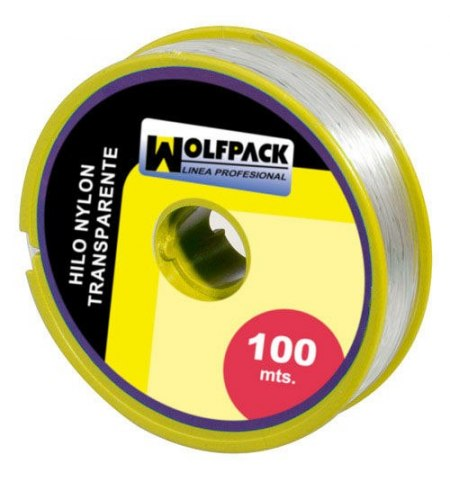 Hilo Nylon Transparente 1.0 mm. Rollo 100 m.