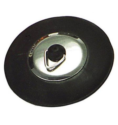 Tapon Goma Tipo Roca Con Pestaña   44 mm.