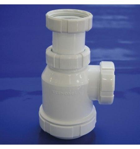 Sifon Botella Extensible T-4-VA  1  1/2  Válvula Automática