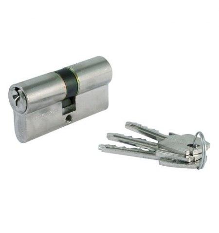 Cilindro Tesa 5200 /30x30 Niquelado Leva corta