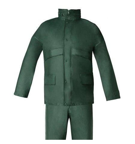 Traje de Agua Impermeable Verde Poliuretano Talla 8-XL